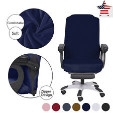 New ListingUniversal Retractable Swivel Chair Seat Cover for Home Office Computer Chair