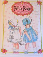 "New Pattern ""Melissa"" Sundress & T Bonnet Wendy Schoen Petite Pouche Sz1,2,3,4"
