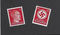 Mint Adolph Hitler & WWII Germany  MNH postage stamp set 1940s Third Reich era