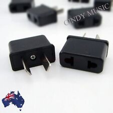 USA US EU ADAPTER PLUG TO AU AUS AUSTRALIA TRAVEL POWER PLUG CONVERTOR