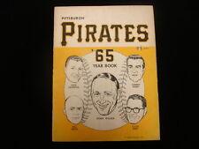 1965 Pittsburgh Pirates Baseball Yearbook