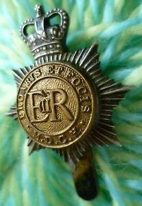 Middlesex Yeomanry Cap Badge MDCH Badge QC ERII Bi-Metal Slider ANTIQUE Original