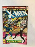 X-Men #97 Marvel 1976 1st Polaris Lilandra Eric the Red 2nd Moira MacTaggert