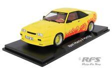Opel Manta B Mattig Motorsport 1991 gelb 1:18 Modelcar Group MCG 18115 NEU OVP