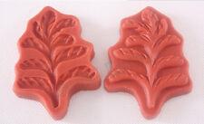 Slovakia Leaf Shape 3D Silicone Fondant Mold Forma de Silicone Cake Decorating