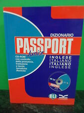 Vocabolario Dizionario Inglese PASSPORT Junior CD-Rom ELI Editore 9788853602831