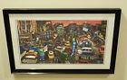 "Michael Birawer ""The Art of Parking"" 2009 Limited Framed Print Amano McGann RARE"