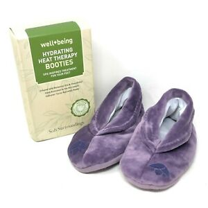 Soft Surroundings Hydrating Heat Therapy Booties Botanical Oils and Shea Butter