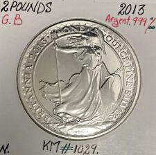 ROYAUME-UNI / GRANDE BRETAGNE - 2 Pounds 2013 // Monnaie en Argent (BRITANNIA)