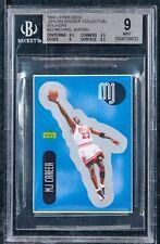 1998 Upper Deck Jordan Sticker Collection stickers Michael Jordan bgs 9