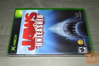 Jaws Unleashed (Xbox 2006) FACTORY SEALED! - RARE!