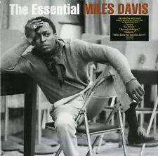 DAVIS MILES THE ESSENTIAL MILES DAVIS DOPPIO VINILE LP NUOVO SIGILLATO