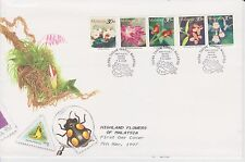 (FDC97034) MALAYSIA 1997 Highland Flowers Stamps on Stamp Week '96 Cover