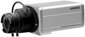 Samsung SCC-130 Indoor CCTV Box Security Camera Surveillance