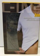 C-IN2 Zen One Retro V. Neck T. Shirt Castor Heather Size Large