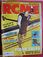 "RCM&E MODEL AIRCRAFT FEBRUARY 2004 AVRO TYPE F & G PLANS CYRILL CARR 31"" SPAN"