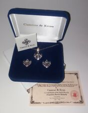 camrose & kross jackie kennedy necklace and earring set