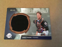 2006 Upper Deck Mike Piazza Super Sweet Swatch 06/45 HOF Rare