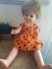 "Vintage 23"" Hard Plastic Doll marked Ae-251 37"