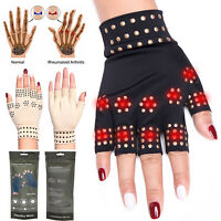 Copper Arthritis Gloves Compression Brace Magnetic Hands Therapy Pain Relief USA