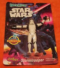 Just Toys STORMTROOPER Bend-Ems Action Figure 1993 Still Sealed Star Wars Galaxy