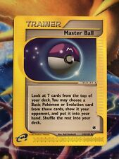 MASTER BALL  143/165  Expedition  Pokemon WOTC Card  E-reader Uncommon NM Mint