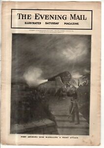 1904 Evening Mail March 26 - Russia and Manchuria prepare for war; Port Arthur