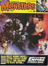 WARREN FAMOUS MONSTERS OF FILMLAND #190 STAR WARS EMPIRE STRIKES BACK SUPERMAN 3
