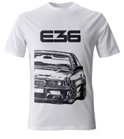 BMW E36 M3 3 Series Men's Street Style T-Shirt #2042