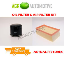 DIESEL SERVICE KIT OIL AIR FILTER FOR RENAULT CLIO 1.5 82 BHP 2005-12