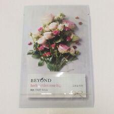 Beyond Herb Garden Rose Hip Mask Sheet For Skin Elastic 22ml /0.74 fl.oz. X 1ea