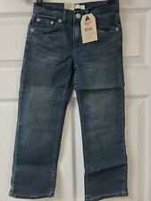 Levi's 514 Straight Jeans Boys Size 7 Reg  NEW WITH TAGS FREE SHIPPING