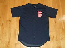 Majestic Blue BOSTON RED SOX Spring Training MLB Team Batting Practice JERSEY Md