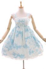 JSK-07 Blau Weiß Himmel Sky Wolken Pastel Gothic Lolita Kleid Stretch Cosplay