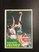 1981-82 Topps *KEVIN McHALE* #75 ROOKIE CARD RC Boston Celtics HOF Ex 3x Champ !