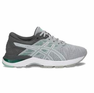ASICS 6 D Sneakers Women's GEL-Flux 5 Running Shoes T862n Gray New in BOX