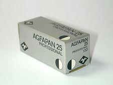 1 FILM PELLICULE 120 noir blanc AGFAPAN 25 périmé depuis 7/80 lomographie lo-fi