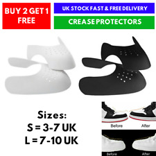 Anti Crease Shoe Shield Trainer Protector Decreaser Authentic Sneaker UK SELLER