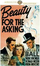 PRE ORDER: BEAUTY FOR THE ASKING (Lucille Ball) - DVD - UK Compatible