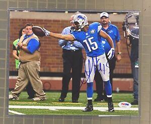 Golden Tate Detroit Lions Signed 8x10 Photo PSA/DNA COA AUTO