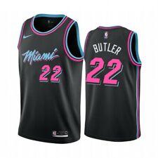 Jimmy Butler #22 Miami Heat Basketball Trikot Jersey City Edition Schwarz neu