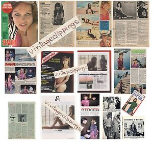 MARISOL lote prensa 1970s spain clippings fotos sexy Pepa Flores