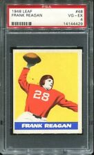 1948 Leaf #48 Frank Reagan PSA 4 New York Giants