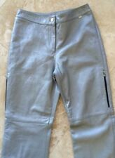 1aa48e9600afb Gray Leather Pants for Women for sale | eBay