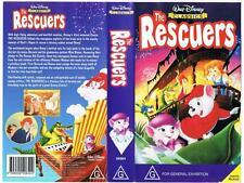 DISNEY -  THE RESCUERS   *RARE VHS TAPE*