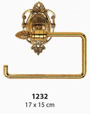 toilettenhalter Brass Gold 1232 17 x 15 cm