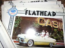 18 issues The Flathead Magazine Ford-Mercury Club of America 1982-1984 COMPLETE