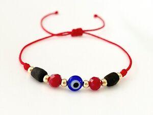 evil eye bracelet azabache bracelet protection bracelet amulet mal de ojo jet