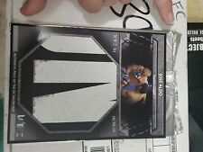2011 Topps UFC Title Shot WEC Fight Mat Relics Box Toppers #51 WEC-JA2 Jose Aldo