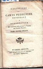 Collezione di opere pubbliche uffiziali e governative